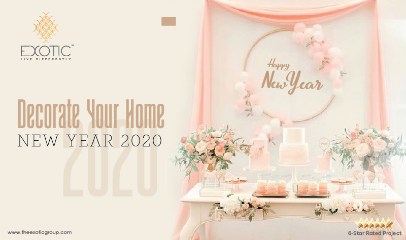 Decorate Your Home – New Year 2020