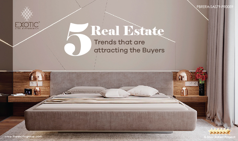 5 Real Estate Trends that are attracting the Buyers