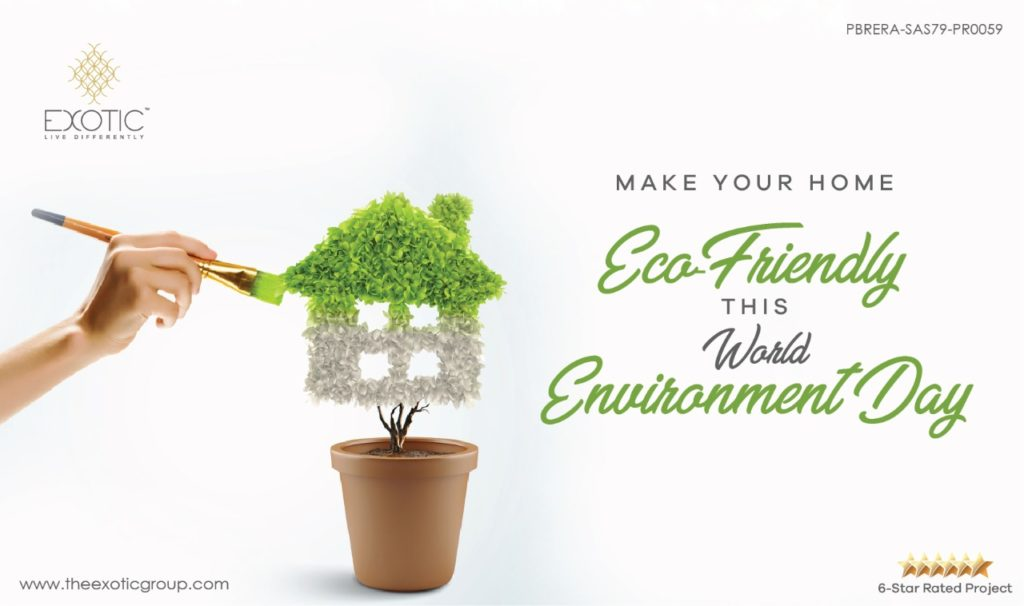 Make your home Eco-Friendly this World Environment Day