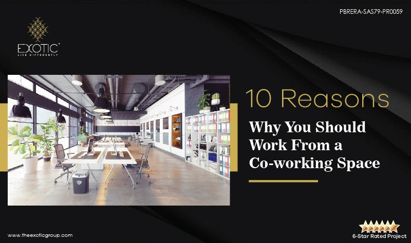 Reasons Why You Should Work From a Co working Space